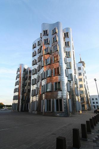 Medienhafen Düsseldorf GehryBauten Düsseldorf