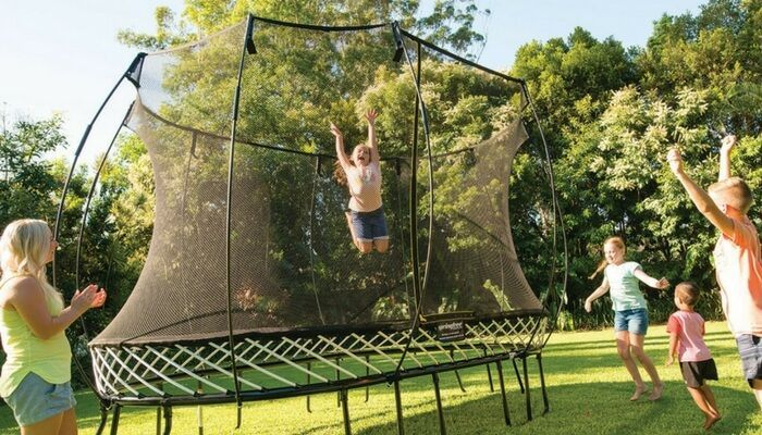 So We Re Thinking About Buying A Trampoline Trampoline Trampoline Reviews Best Trampoline