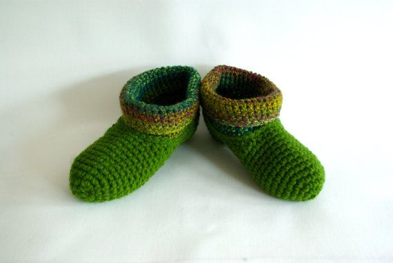crochet slipper socks, warm wool slippers, bed socks, handmade socks, crochet slippers, Winter fashion A warm and cozy pair of slipper socks