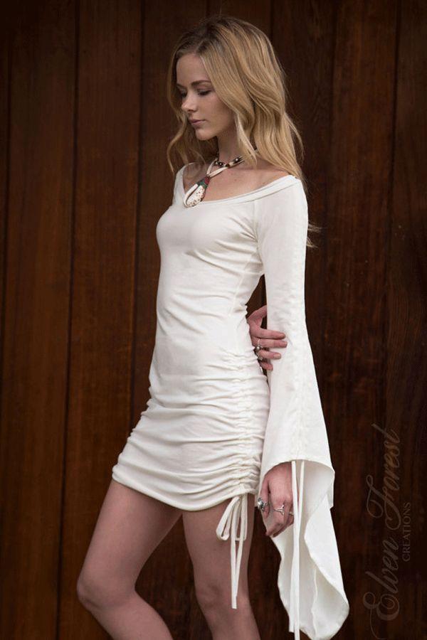 Fairy Sleeve Peasant Dress