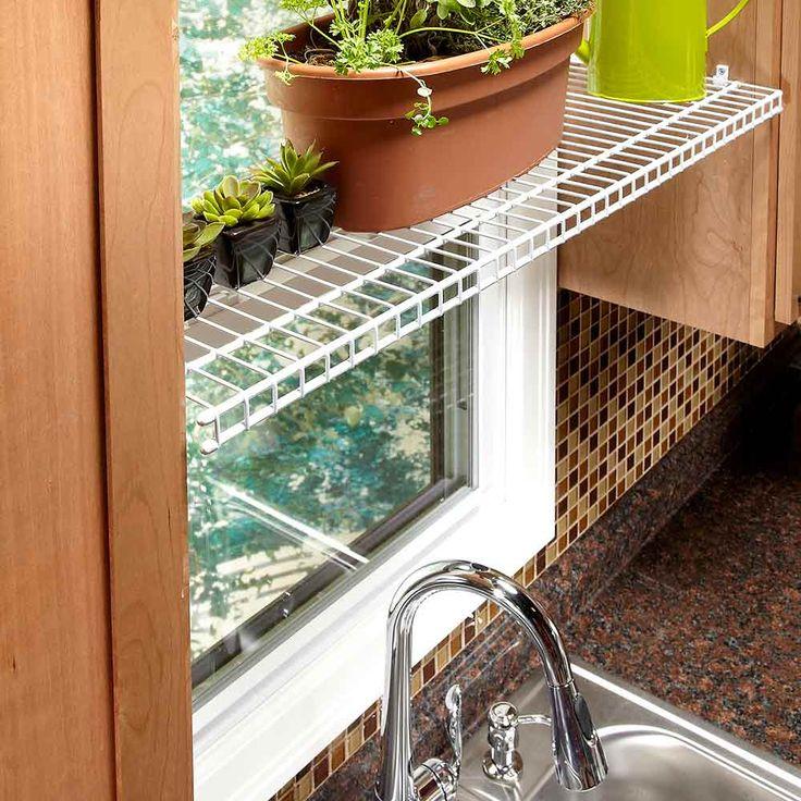 Large Kitchen Window: 1000+ Images About Organization Tips & Storage Ideas On