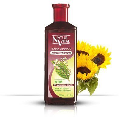 Hair Shampoo Henna Red (Mahogany) - Colour and Shine - 300 Ml / Natural & Organic - http://essential-organic.com/hair-shampoo-henna-red-mahogany-colour-and-shine-300-ml-natural-organic/