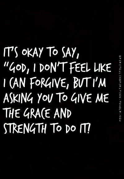 ☆ forgiveness - grace - pray