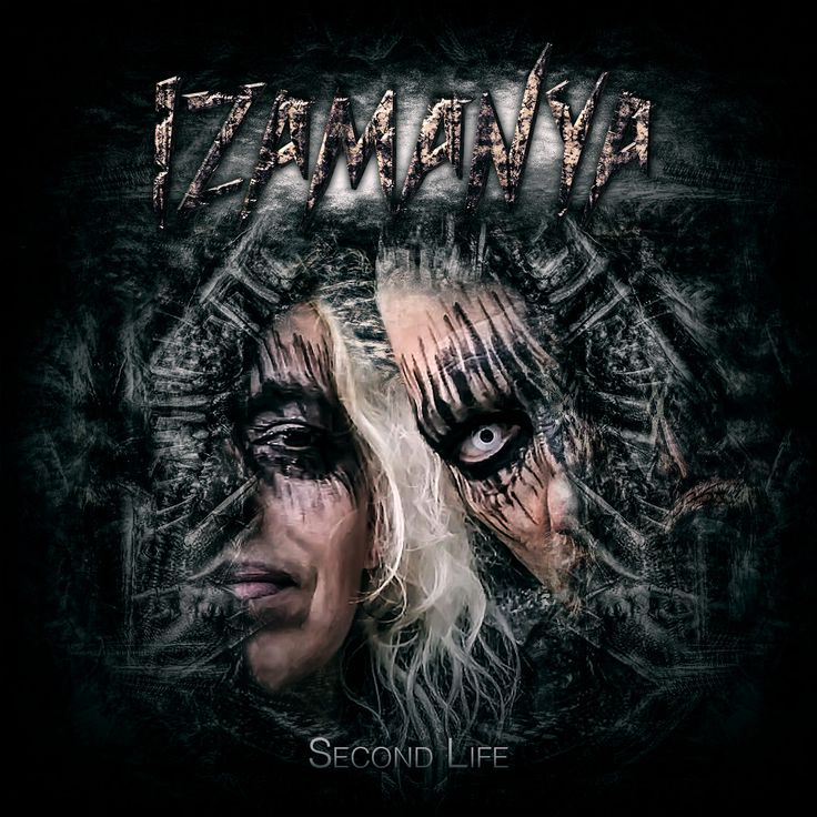Cd Cover Artwork for Second Life, the new EP by Izamanya.