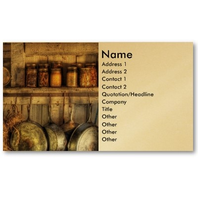 45 best zazzle business cards images on pinterest business cards canning old country kitchen business card reheart Gallery