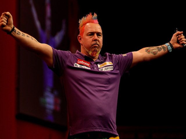 Result: Peter Wright sees off Phil Taylor to reach Grand Slam of Darts semi-finals