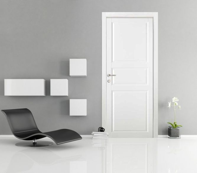 porte interne bianche laccate - Cerca con Google | Interni ...