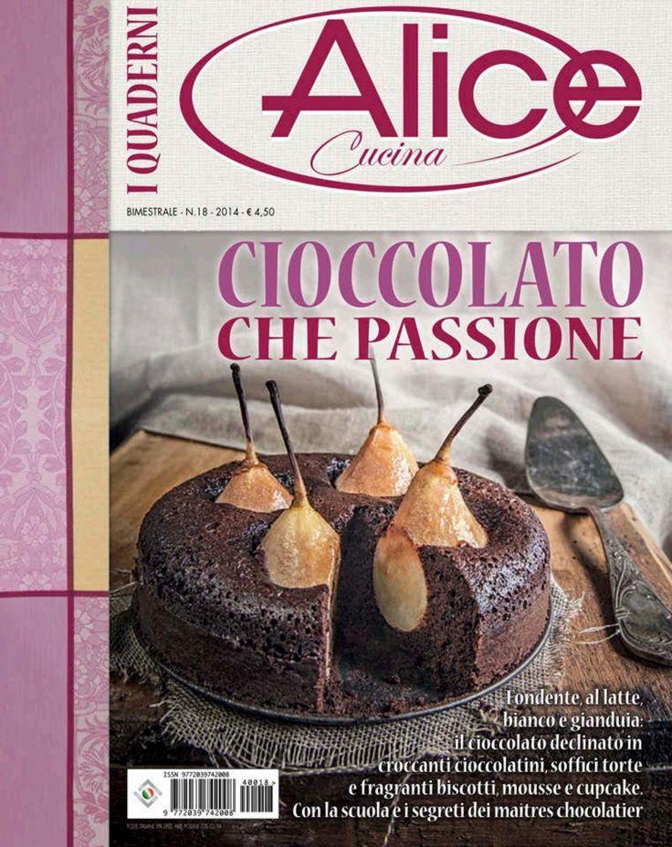 Alice cucina i quaderni Cioccolato passion