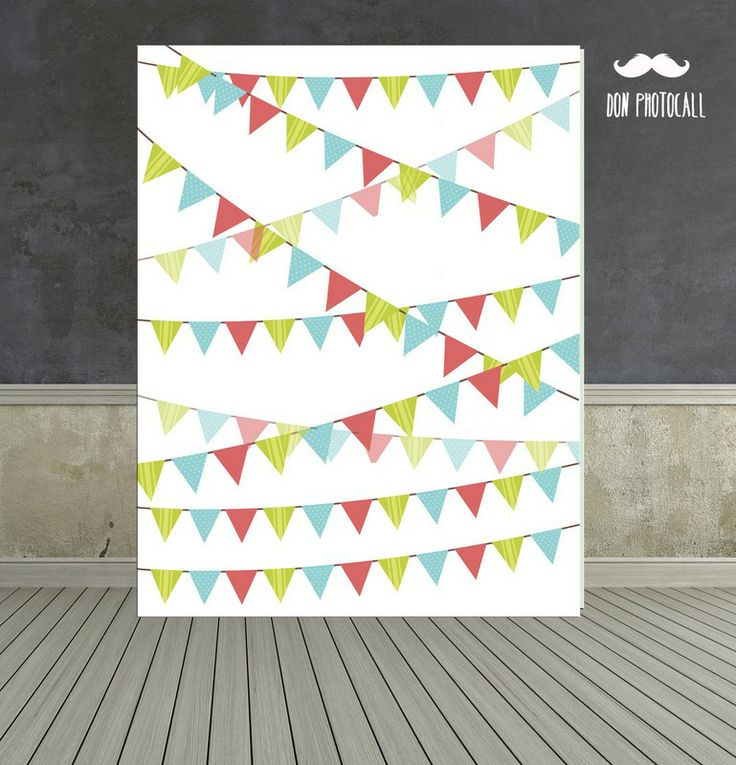 Photocall banderines. Backdrop party.#backdrop #photobooth #photocall