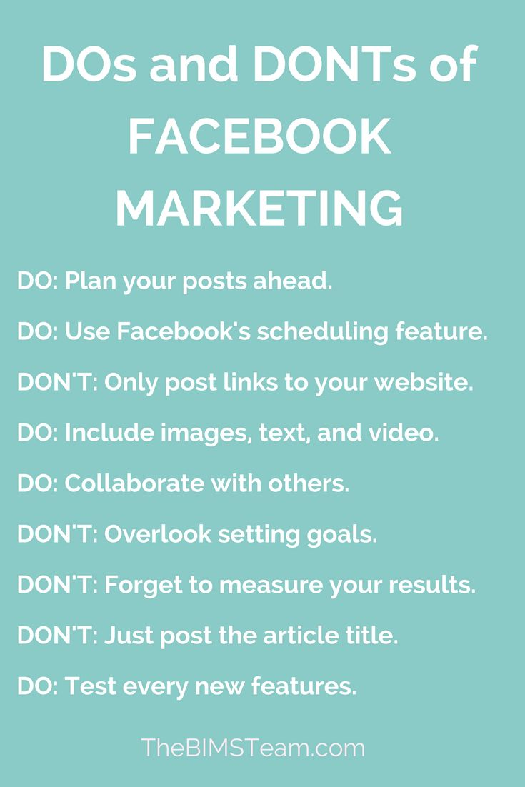 Dos and donts of Facebook marketing | Facebook marketing tips | How to use Facebook for Business | Facebook Business Page | Facebook Tips | Facebook Marketing | Facebook How To | Facebook