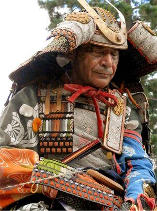 Jidai-Matsuri (Jidai-festival)in Kyoto Japan. The costume of samurai of Muromachi era (the Nanbokucho era).