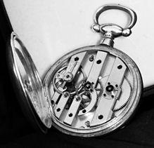 Relógio de bolso  - francês -