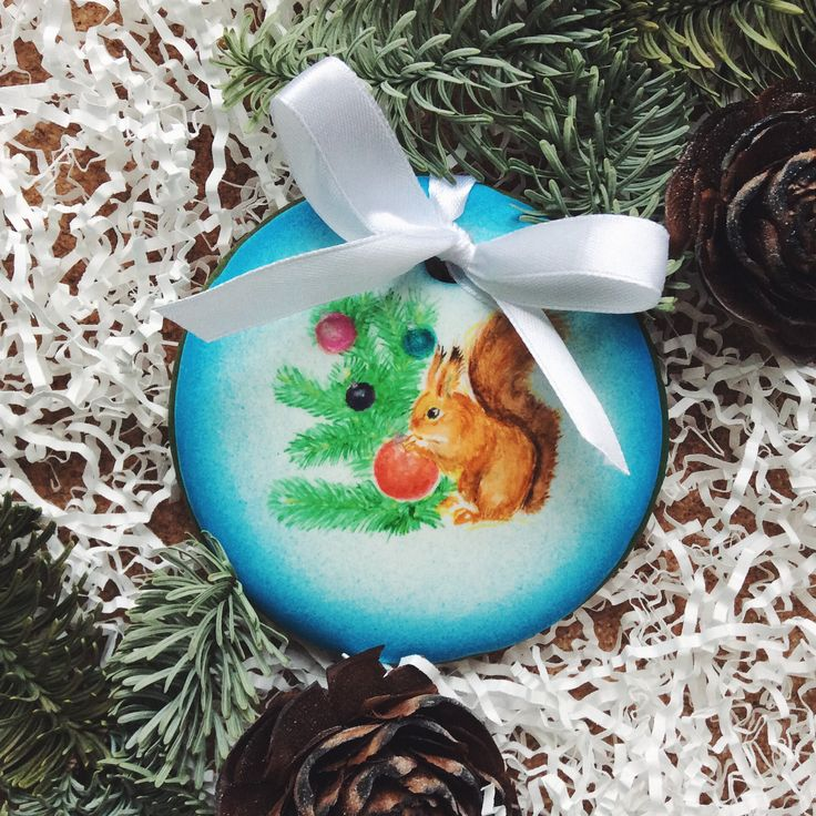 Squirrel, cookies, gingerbread, new year