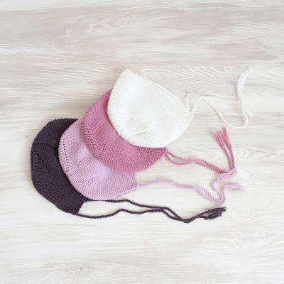 Cómo Tejer una Capota para Bebé con Dos Agujas - El blog de Blanqui