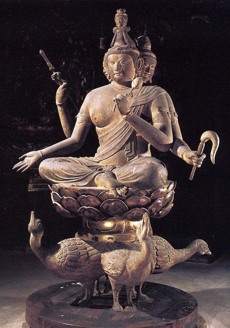京都 八幡山教王護国寺 (東寺) 梵天坐像