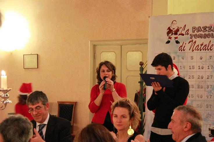 Nicoletta Cucinella (LC Novi) presenta la Tombola di Natale