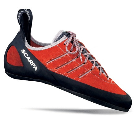 Scarpa Thunder has had an upgrade. A great all rounder shoe which you can wear all day but still edge like a knife.