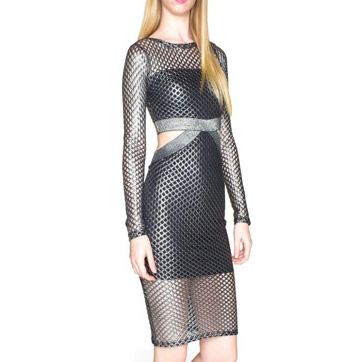 Sentimental NY Blend Fishnet Dress