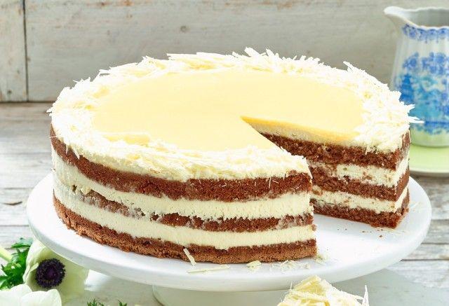 Einfach Und Schnell Weiße Schokoladen Eierlikör Torte Rezept Kochen Und Backen Winter Kuchen Kuchen Und Torten