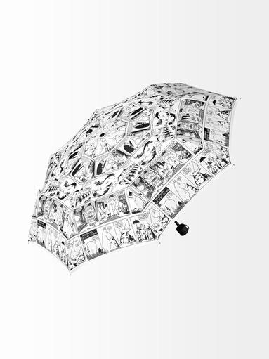 Muumisarjakuva sateenvarjo