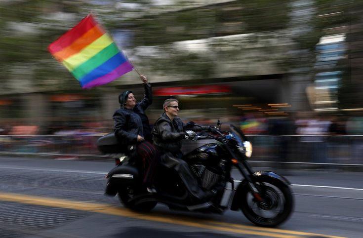 desfile del orgullo en San Francisco.  JUSTIN SULLIVAN (AFP)