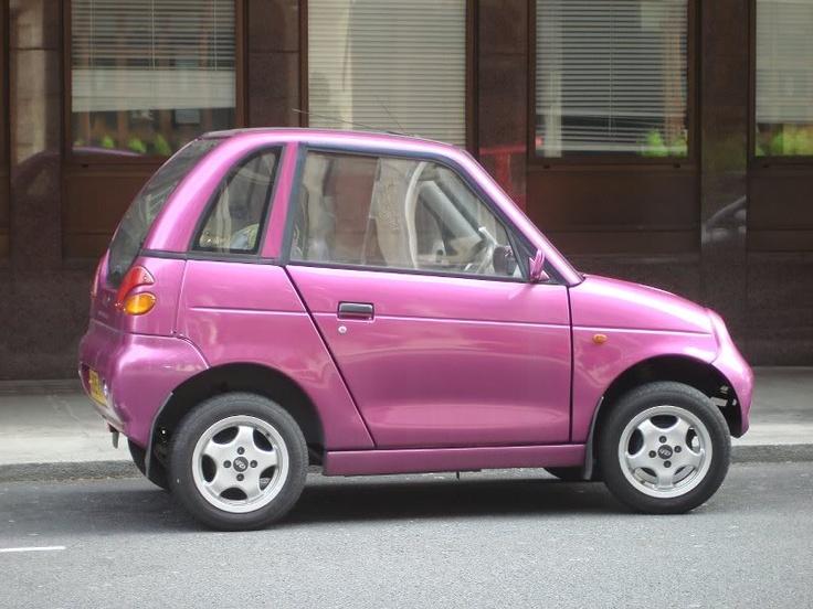 Little Purple Electric Car #London