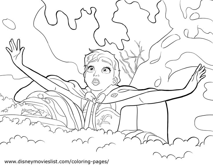 Disney Frozen Coloring Book Pages Coloring Coloring Pages