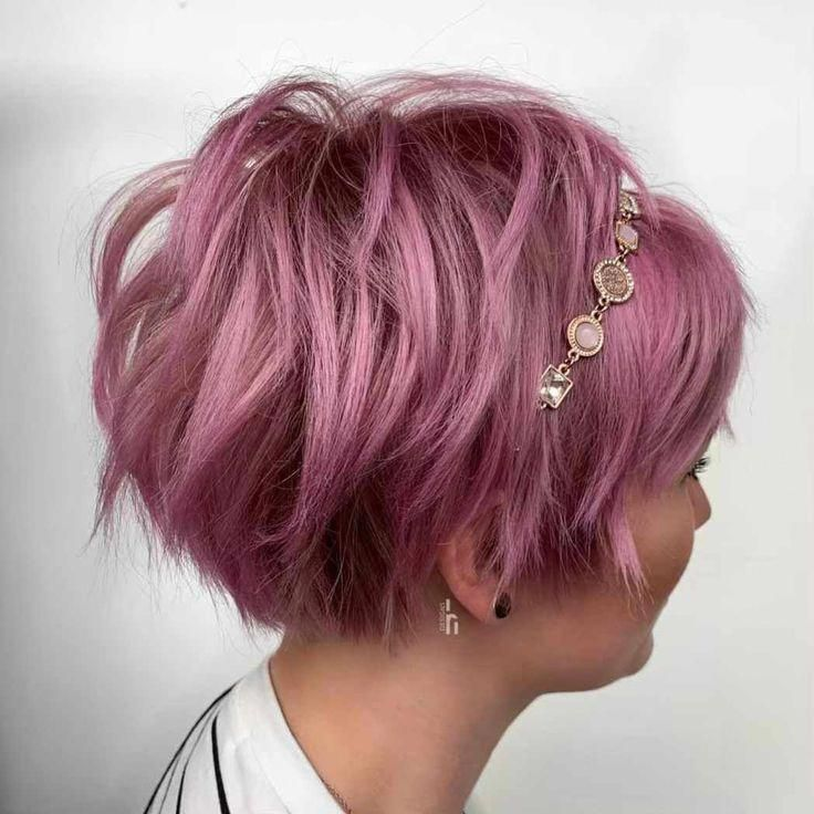 Latest Trend Pixie and Bob Short Hairstyles 2019 - Flattering Short Hairstyles That Fit You Perfectly Short hairstyles are also trendy this year. Are ...