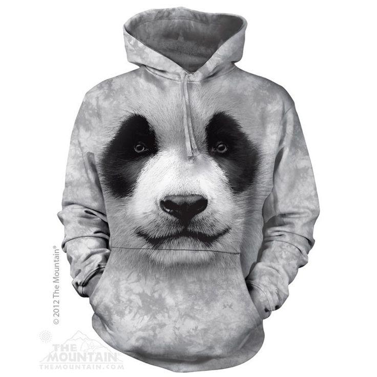 günstig 3D Hoodie Pandabär Herren Baumwolle billig gut preiswert Chanel Burberry Armani Abercrombie