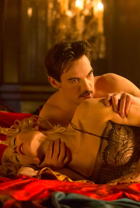 Jonathan Rhys Meyers and Victoria Smurfit getting hot and steamy in Episode 3 of Dracula TV Series - sky.com/dracula