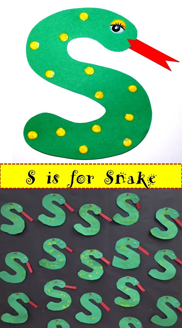 Letter s arts and crafts for preschoolers - Dr Sam S Alphabet Crafts Uppercase Letters A Z
