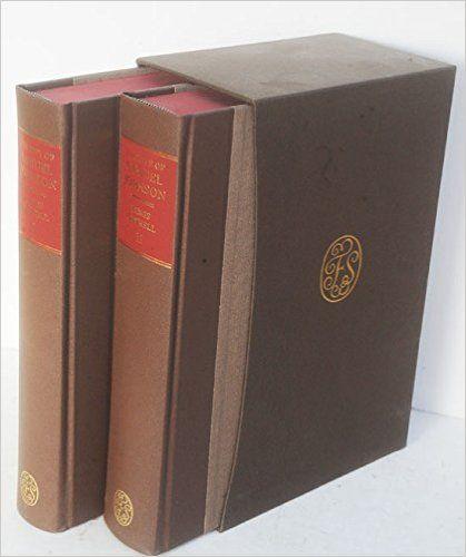 The Life of Samuel Johnson (2 vol set): James Boswell: Amazon.com: Books