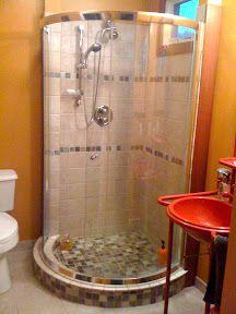 Is A 36u0027 Half Round Shower Too Cramped? Small Bath Remodel.   Bathrooms