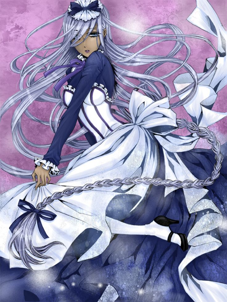Hannah Anefeloz: Kuroshitsuji II (Black Butler II)  she looks so bad ass