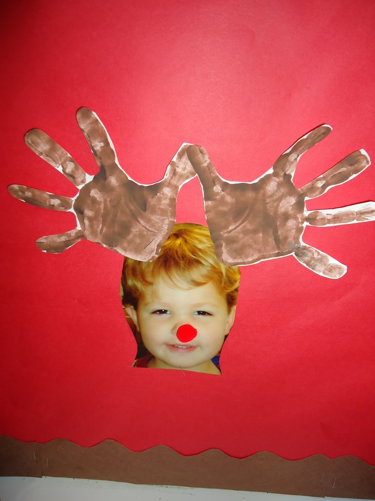 photo w/reindeer hands kerata