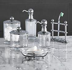 Restoration hardware hardware and catalog on pinterest for Restoration hardware bathroom accessories