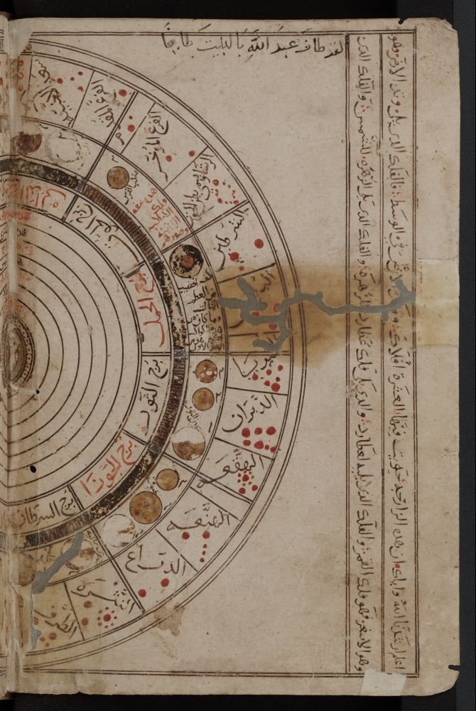 Al-Farabi, Alpharabius, Zodiac chart. al-Farabi, Abu Nasr (c.870-950) Al-Farabi was known to the Arabs as the 'Second Master' (after Aristotle), and with good reason. It is unfortunate that his name has been overshadowed by those of later philosophers such as Ibn Sina, for al-Farabi was one of the world's great philosophers and much more original than many of his Islamic successors. A philosopher, logician and musician, he was also a major political scientist. Astrology.