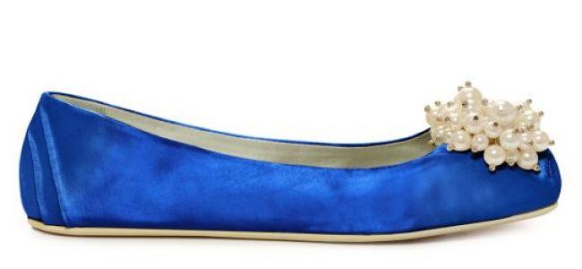 Zapatos de novia en color azul de Kate Spade Image: 0