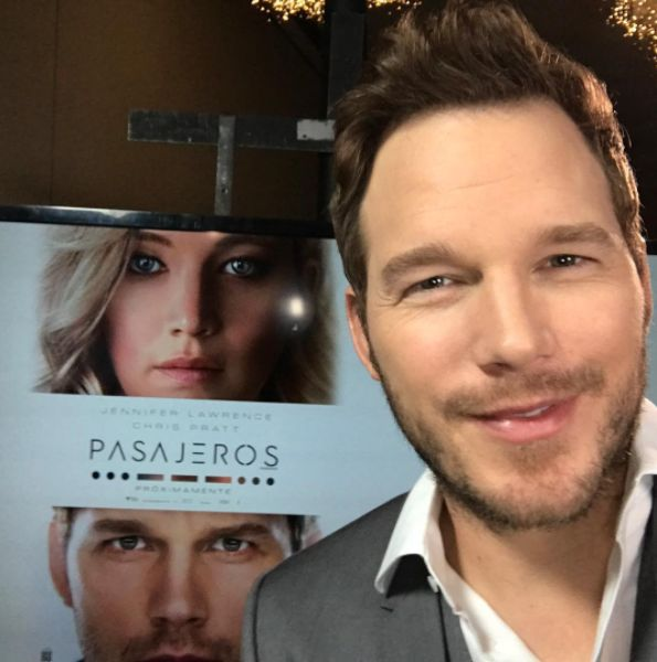 Chris Pratt Keeps Cropping Jennifer Lawrence Out Of His Pictures