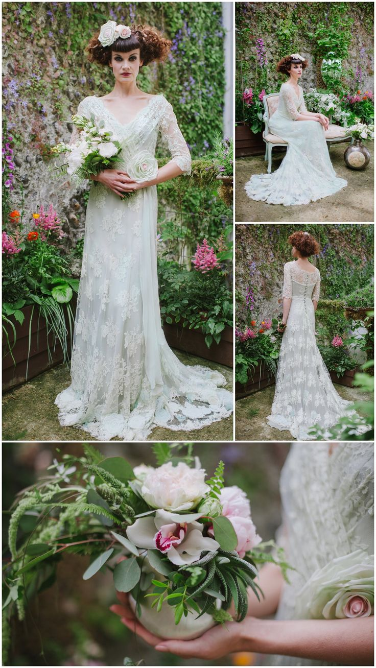 56 best The Garden Collection images on Pinterest | Bridal dresses ...