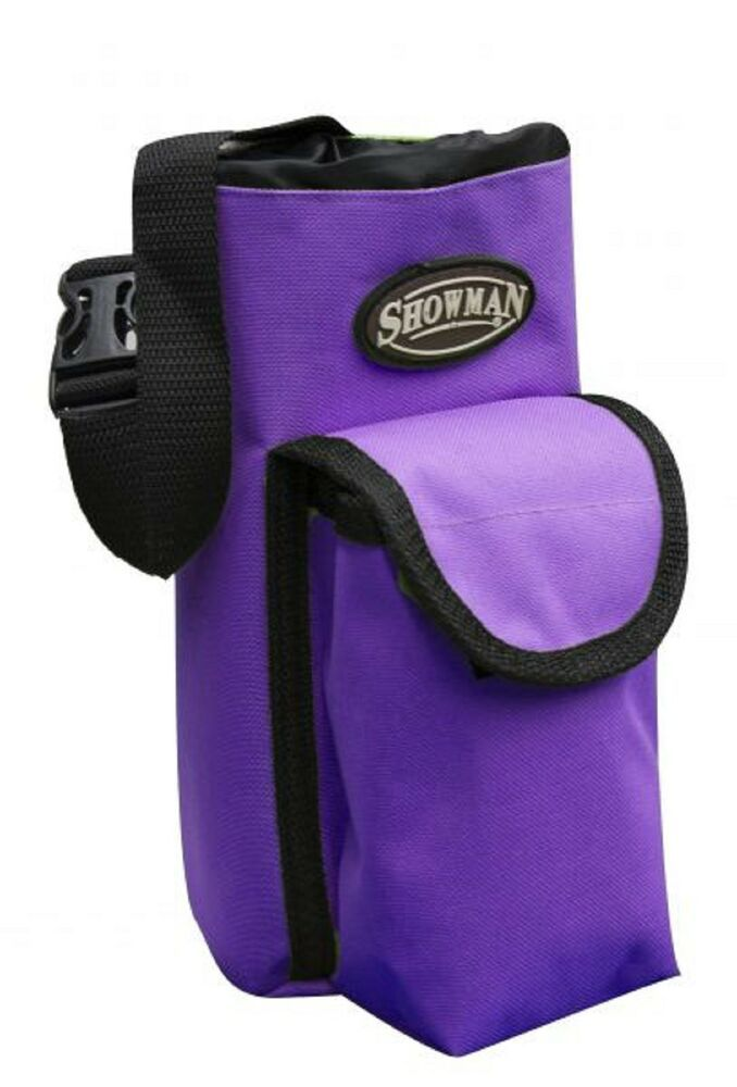 Details About Purple Insulated Nylon Bottle Carrier Horn