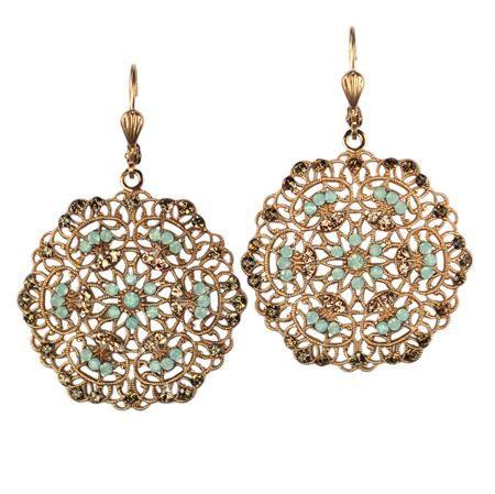 Love these!: Filigr Earrings, Gold Filigree, Jewelry Inspiration, Filigree Earrings, Earrings Features, Cute Earrings, Parisian Life, Gardens Gates, La Vie
