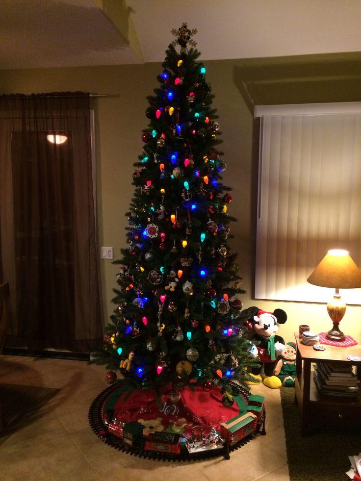 Our Disney Christmas tree...