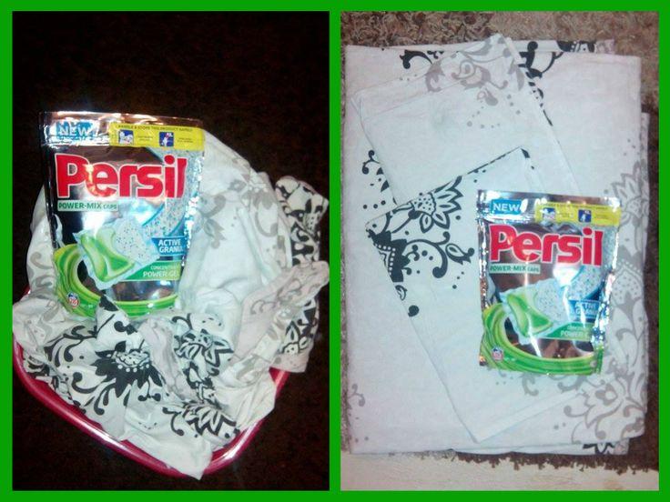 Testez in continuare Persil Power-Mix Caps pentru curatarea rufelor albe. BUZZStore #Persil  Nici de aceasta data Persil Power-Mix Caps nu m-a dezamagit,rufele sunt imaculate,am folosit un program cu prespalare si doua doze Persil .Mirosul este mai pregnant fata de testarea anterioara,dar rufele sunt la fel de curate.