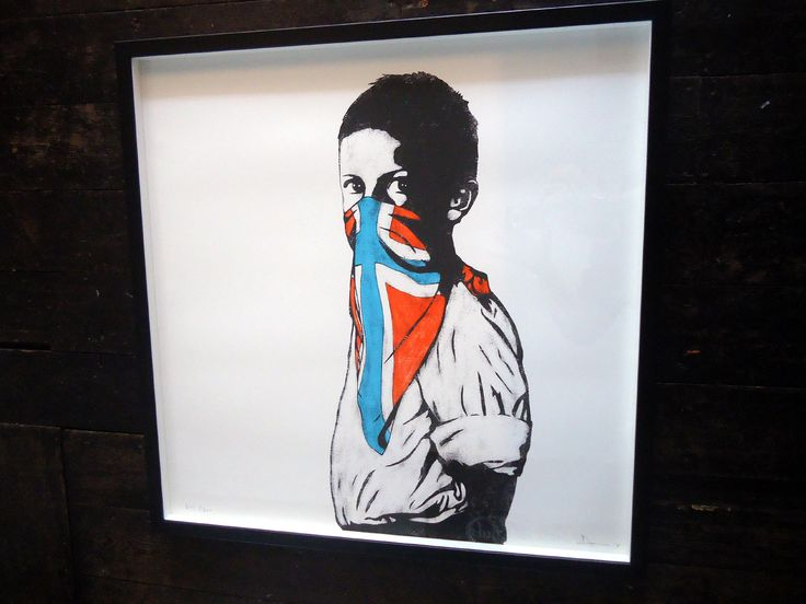 Framed Vandal by DOLK is a Signed Limited Edition Print. Rare and highly sought after prints by Dolk. Framed in our workshop by our master craftsman.