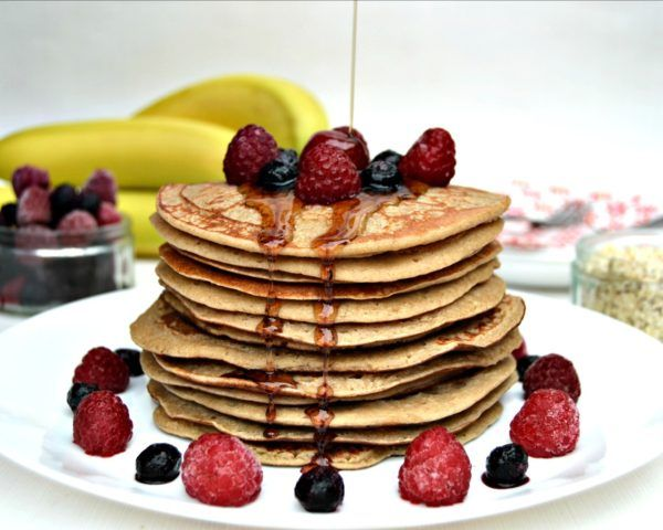 Pancake Day Recipe: Healthy Banana Oat Pancake | Lilinha Angel's World - UK Food & Lifestyle Blog