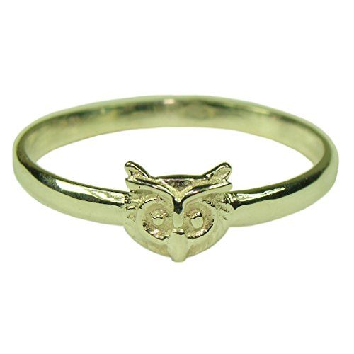 Souvenirs of France - Owl of Dijon Ring - Size: 7 - Material: 18-Carat Solid Gold -- Visit the image link more details.