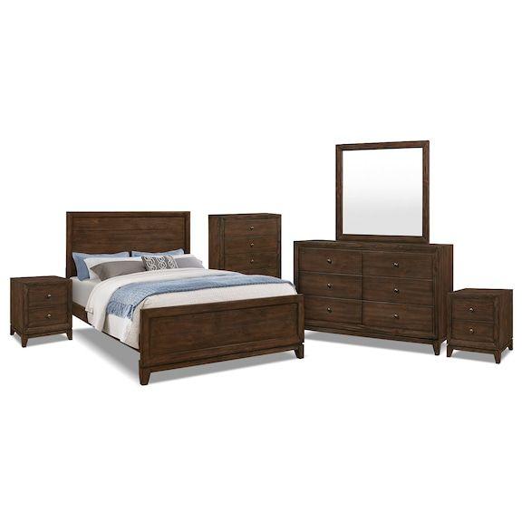 Tacoma 8-Piece Queen Bedroom Package | Bedroom | King bedroom, Queen ...