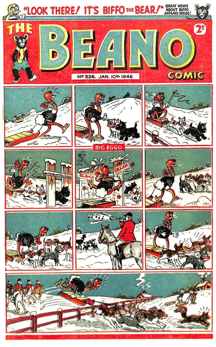The Beano No. 326 - 10th January 1948