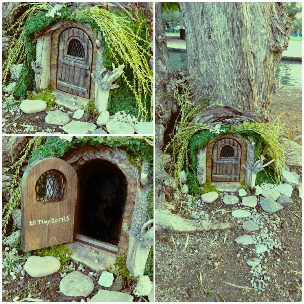 Near the Enchanted Island Amusement park there\u0027s a tiny door. It\u0027s pastoral picturesque and & 28 best Tiny Doors images on Pinterest | Elves Elf and Kansas city Pezcame.Com